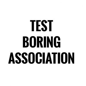 Test Boring Association